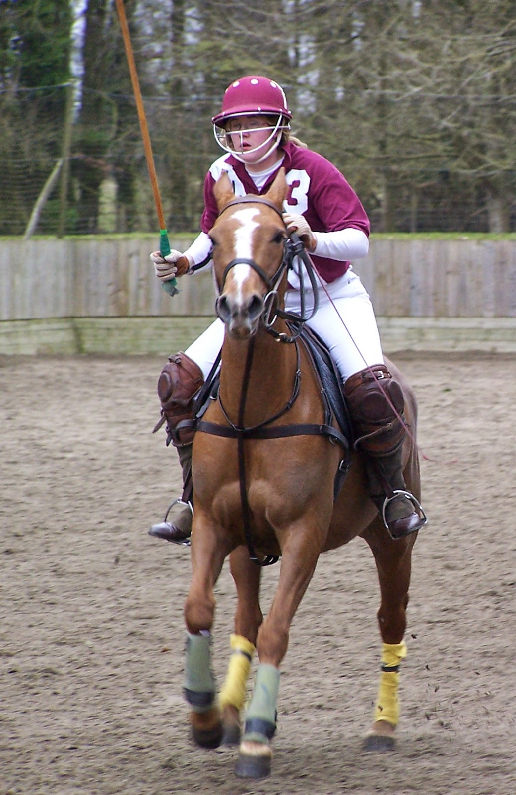 Competing in England