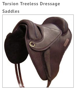 Torsion Saddle from Action Rider Tack