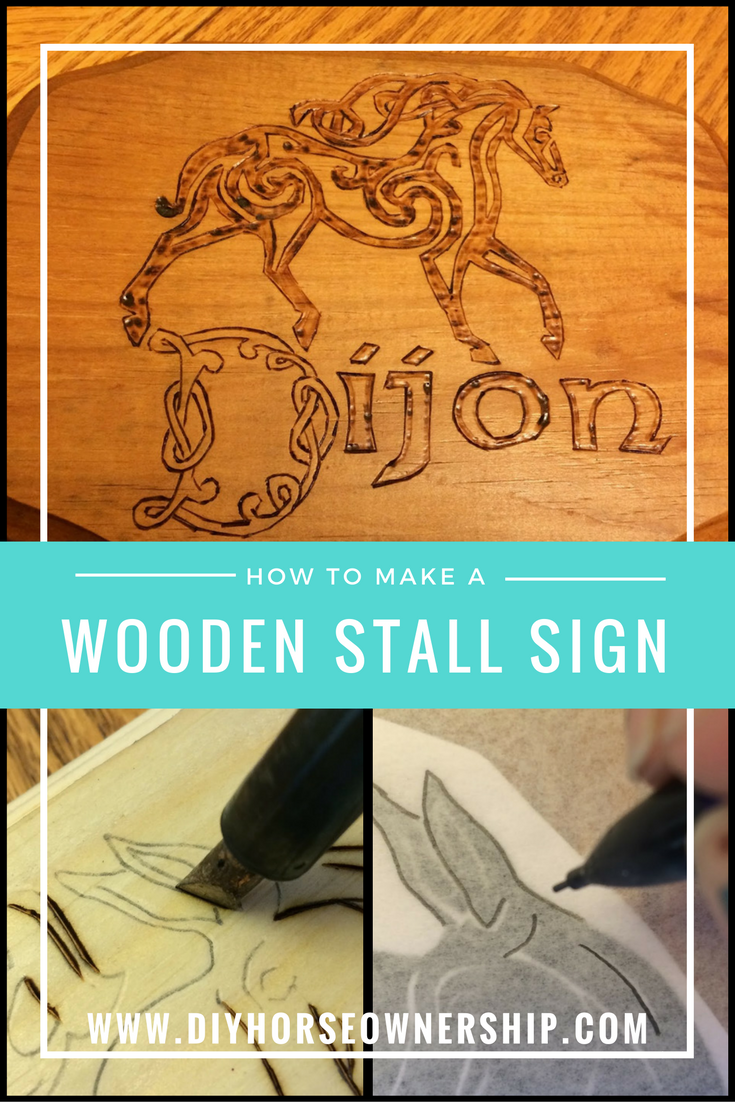 Wooden Stall Sign-2