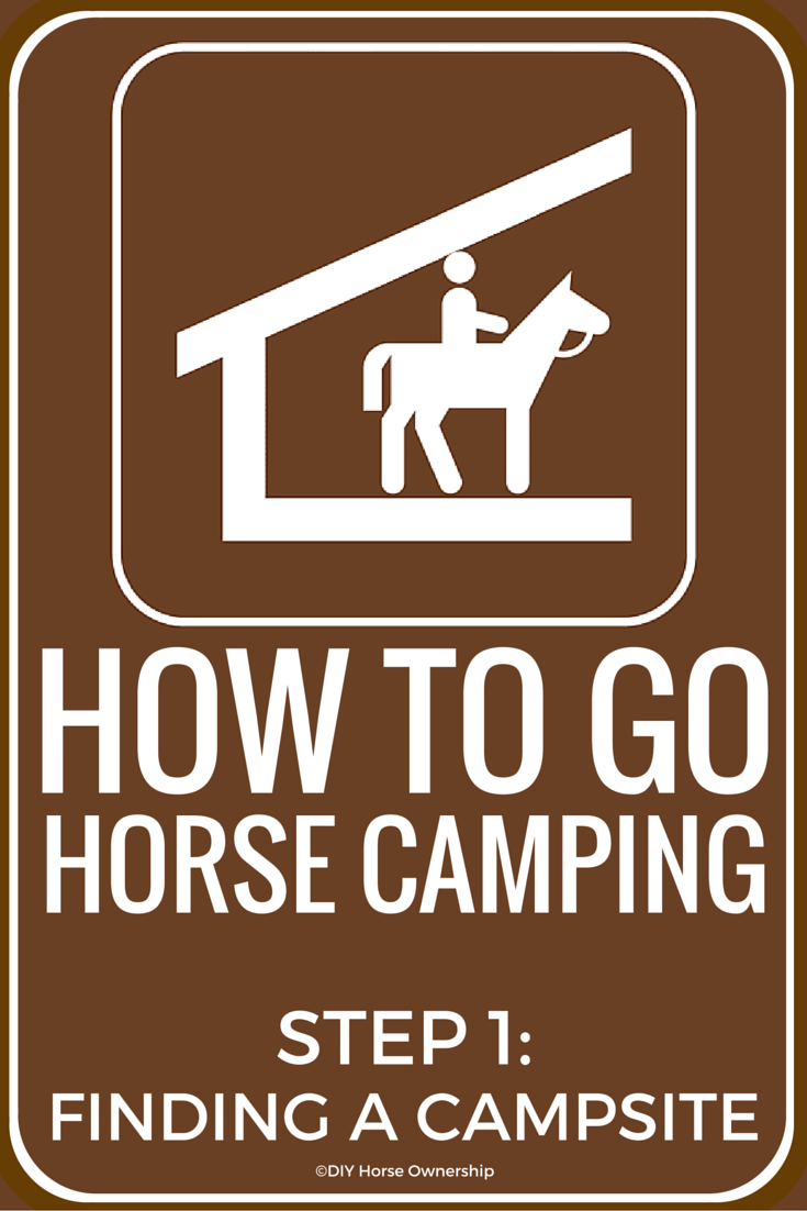 Horse Camping Step 1