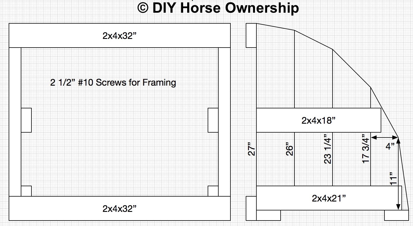 DIY How to Make a Roll Top Horse Jump